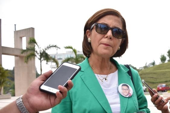 Lucía Díaz, coordinadora del Colectivo Solecito de Veracruz, seleccionada por la iniciativa Shelter City para realizar una estancia en La Haya