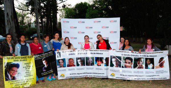 """I(dh)eas imparte taller de capacitación al Colectivo de búsqueda """"Uniendo Esperanzas"""" de Estado de Mexico"""