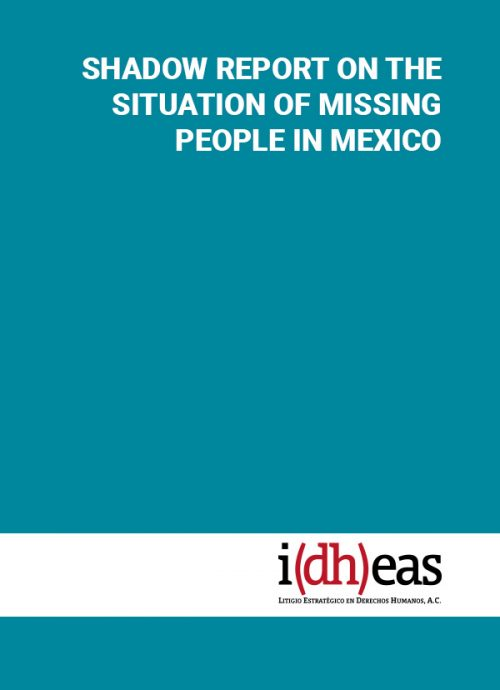 Shadow report on the situation of missing people in Mexico