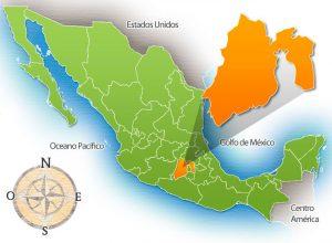 Ubicación del Estado de México