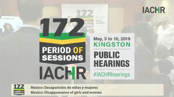La CIDH convoca audiencia pública sobre desaparición de niñas y mujeres en el Estado de México