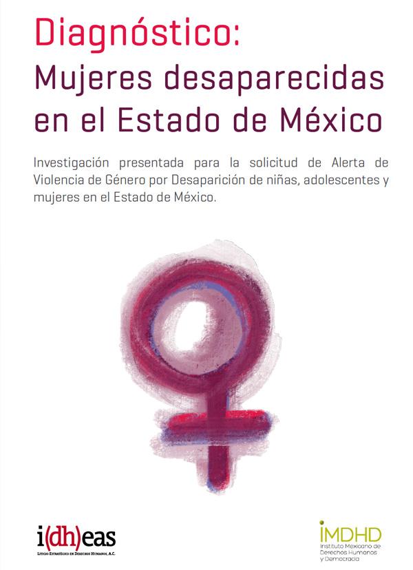 Portada del Diagnóstico: Mujeres desaparecidas en el Estado de México
