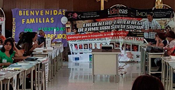 Idheas participa en el Encuentro-taller regional de familiares de personas desaparecidas en el Estado de Coahuila