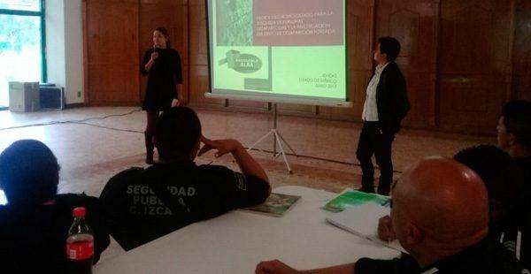Taller de Capacitación a policías del Estado de México sobre el Protocolo ALBA y Protocolo Homologado de Búsqueda