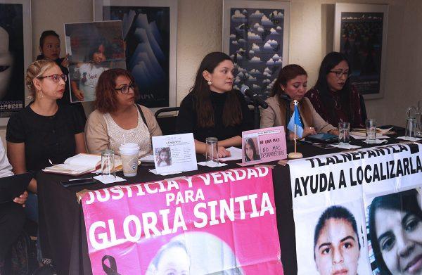 Presentación del Diagnóstico sobre mujeres desaparecidas en el Estado de México