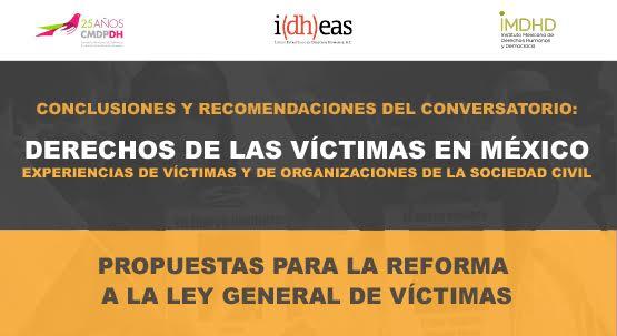 Propuestas para la Reforma a la Ley de víctimas