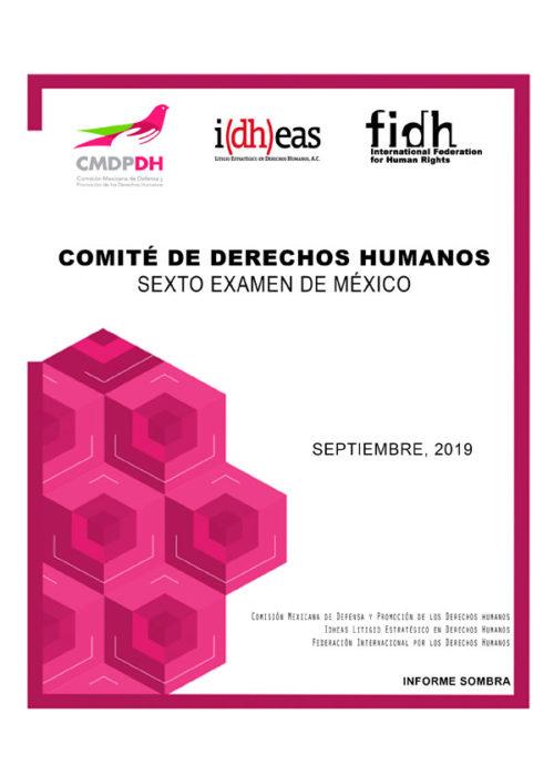 Comité de Derechos Humanos Sexto Examen México