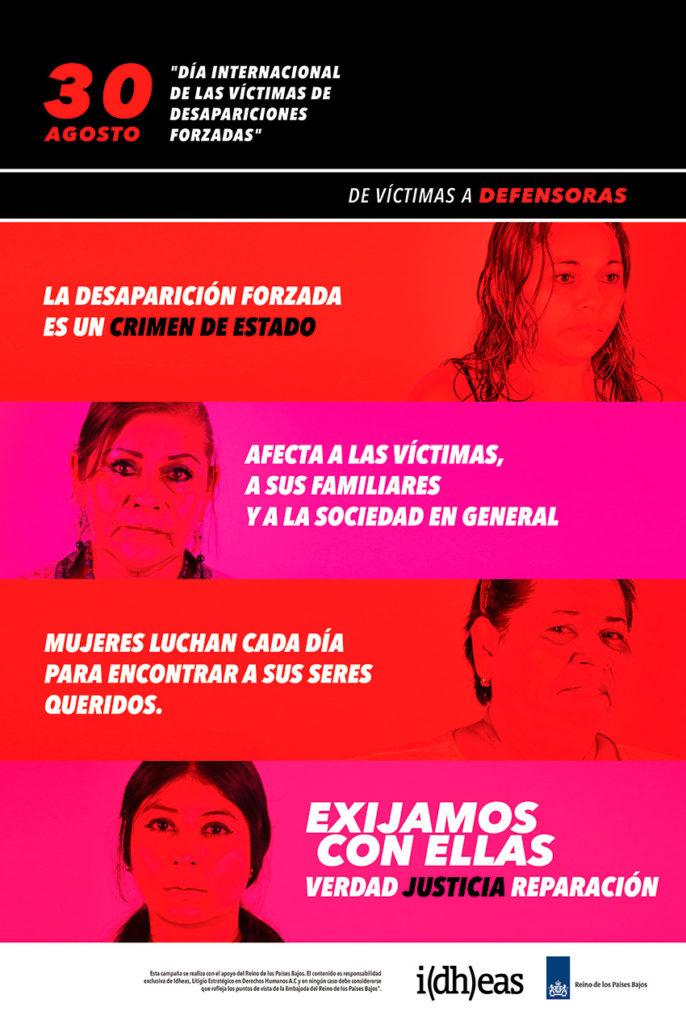 Campaña: De Víctimas a Defensoras