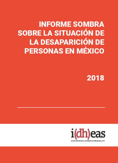 Informe sombra sobre la situación de la desaparición de personas en México