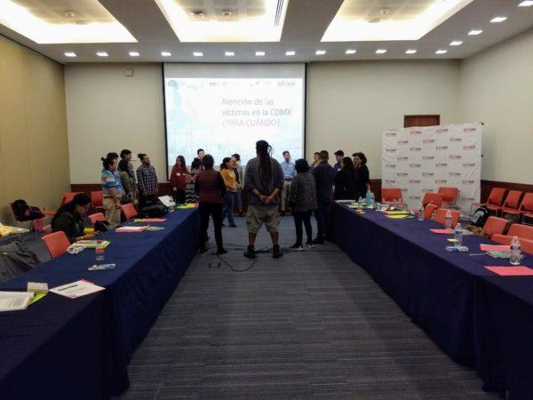 IDHEAS presenta Diagnóstico sobre atención a víctimas en Ciudad de México