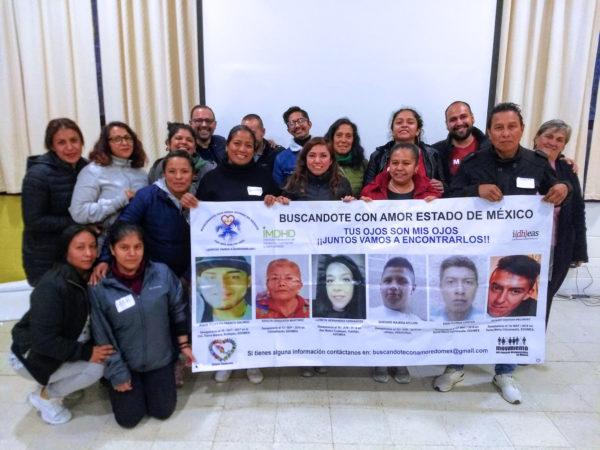 Taller de formación con colectivos de familiares de personas desaparecidas del Estado de México