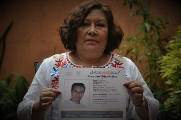 Observatorio de casos: La desaparición forzada de Christian Téllez
