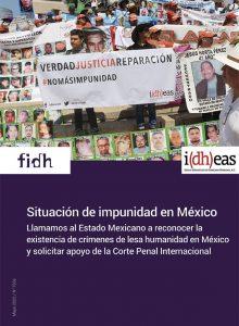 Situación de impunidad en México