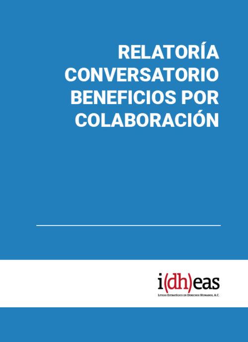 Relatoría conversatorio Beneficios por Colaboración