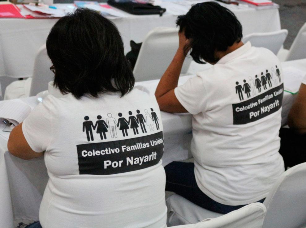 El Comité contra las Desapariciones Forzadas de Naciones Unidas solicita la búsqueda de 39 personas desaparecidas en Nayarit, México