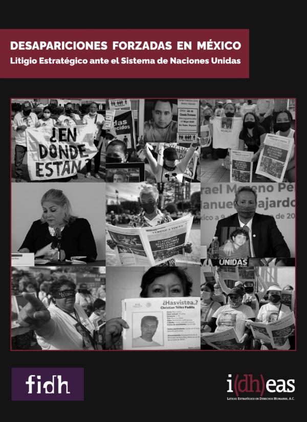 Desapariciones forzadas en México. Litigio estratégico ante el Sistema de Naciones Unidas