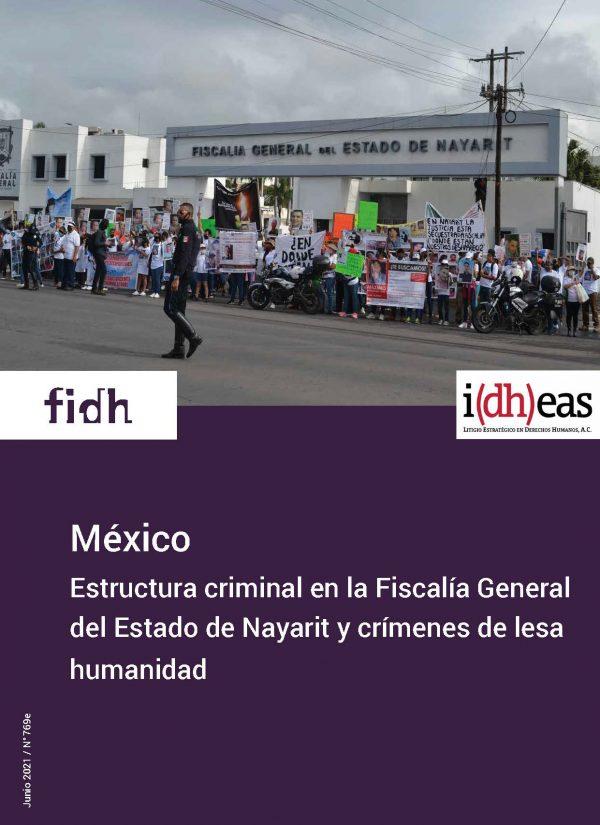 México: Estructura criminal en la Fiscalía General del Estado de Nayarit y crímenes de lesa humanidad